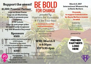 Be Bold for Change EWSB Sat