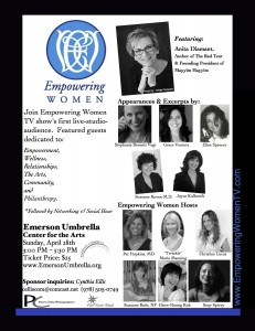 Empowering Women April 28 poster med