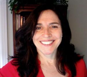 Grace Ventura close up red